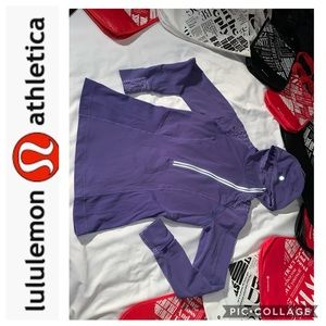 LuLuLemon Lavender Half Zip Pullover. Size 8
